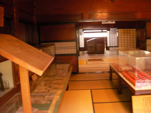 明治時代の資料展示