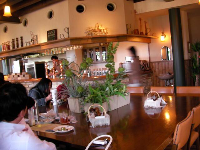 雰囲気の良いレストラン