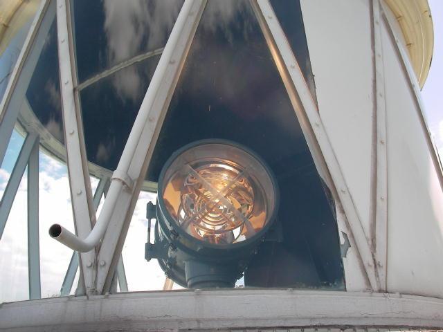 灯台のレンズ