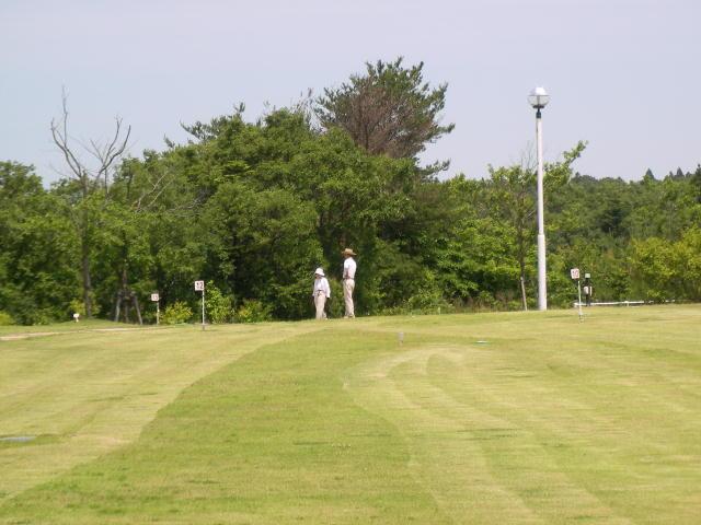 グラウンドゴルフ客がメイン