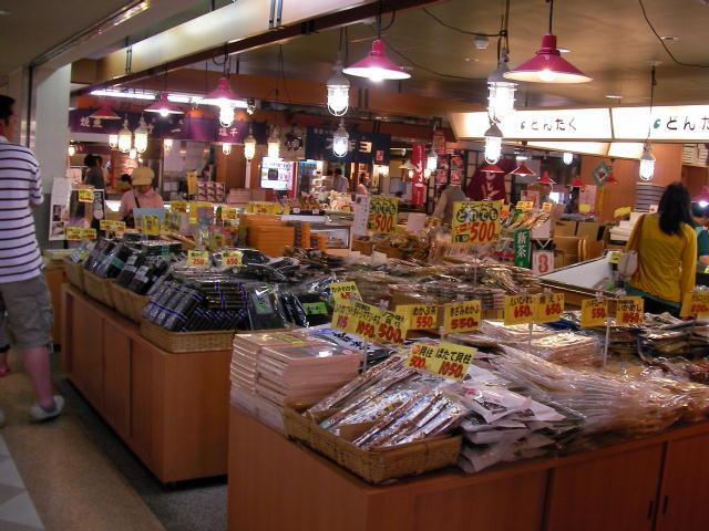 海産物が多い